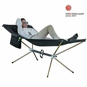 KingCamp Lightweight Hammock Bed with Aluminum Stand Portable Folding Camping C