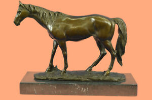 Famous Chinese Luck Horse Bronze Sculpture Museum Quality Figurine Figure DEAL