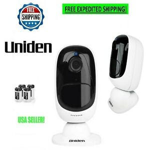 WIRELESS OUTDOOR SECURITY CAMERA SYSTEM 1080P WIFI SMART APP NIGHT VISION VIDEO