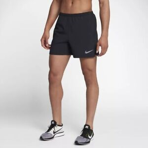 Nike Men's 5'' Flex Challenger BlackBlack Running Shorts (AH8149-011) Siz M