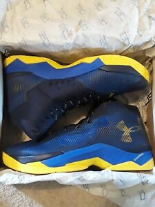 Under Armour Curry 2.5 Dub Nation MVP 73-9 Warriors Mens Shoes Size 13