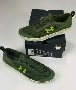 Under Armour Kilchis Water Boat Shoes Green Casual NEW Men's US 9.5 1268873-374