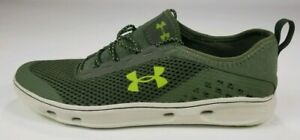 Under Armour Kilchis Water Boat Shoes Green Casual NEW Men's US 11.5 1268873-374