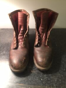 used mens redwing boots size 11