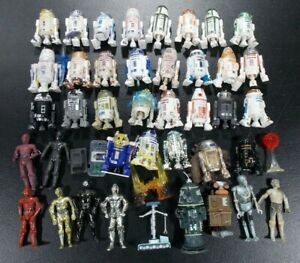 STAR WARS ULTIMATE ASTROMECH + OTHER DROIDS LOT OF 40 LOOSE FIGURES R2-D2 HASBRO