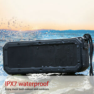 40w Waterproof IPX7 Portable Wireless Bluetooth Mini Speakers USBTF Stereo DSP
