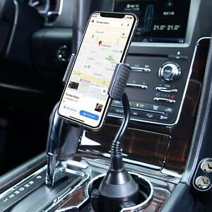 New Adjustable Universal Car Mount Holder Gooseneck Cup Cradle for Cell Phone US