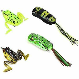 Frog Lures Topwater Bass Fishing Tackle Box Pike Snakehead Crank Bait Tackle