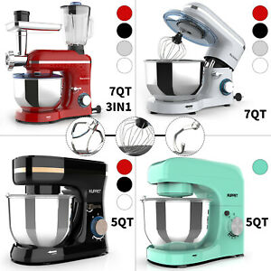 3IN1/Mixer-only 850W/660W/380W 6/8 Speed Tilt-Head Stand Mixer w/ 4.7/7QT Bowl