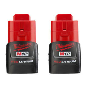 Milwaukee M12 REDLITHIUM™ Compact Battery Two Pack 48-11-2411