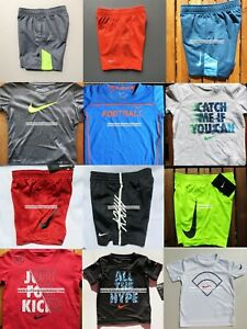 $276 NIKE BOYS 3T ~ SHORTS ~ DRI-FIT ~ T-SHIRTS ~ AUTHENTIC ~ 12 PC SUMMER ~ NWT