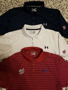 Washington Nationals: Lot of 3 Under Armour
