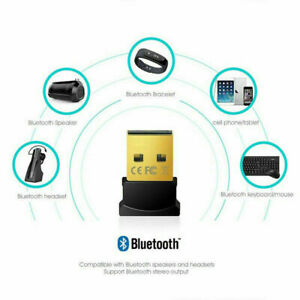 Bluetooth 4.0 USB 2.0 CSR 4.0 Adapter Dongle Wireless Tiny Receiver For Computer
