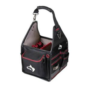 Husky Electrician Tool Bag 10 in. Removable Tool Wall 5 Feet Water Resistant