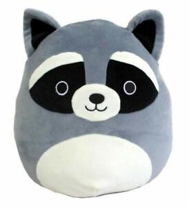 Kelly Toy Squishmallows 3.5quot; Raccoon Plush Pillow Clip on