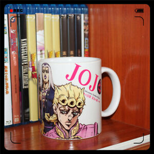 JoJo#x27;s Bizarre Adventure Golden Wind Giorno Bruno Ceramics Mug Coffee Water Cup $23.99