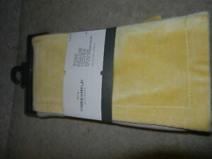 new Threshold Toss Pillow Cover yellow 18x18 18