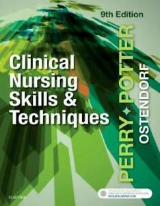 Clinical Nursing Skills and Techniques 9e Paperback VERY GOOD