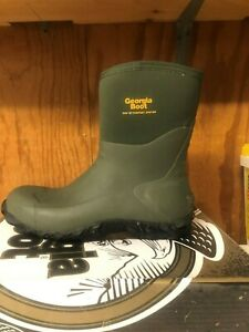 Georgia Men#x27;s Mid Rubber Boot 00231 All sizes