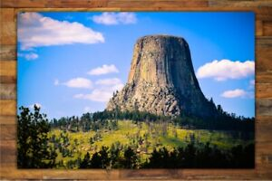 Devils Tower Photography Prints Wyoming Wall Decor Nature PostersMetal Prints