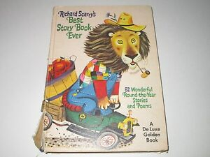 Richard Scarry's Best Story Book Ever 1970 Edition RARE w ERRORS
