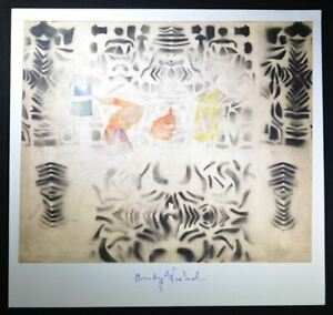 """Andy Warhol Hand Signed Print """"Dancing Children"""" with COA.  Beautiful print."""