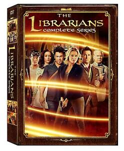 The Librarians Complete Series Seasons 1 4 12 Disc DVD Box Set $20.89