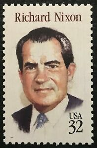 1995 Scott #2955 32¢ RICHARD NIXON PRESIDENT Single Stamp Mint NH