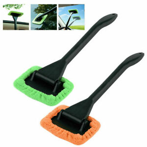 2X MicroFiber Windshield Clean Shine Car Auto Wiper Cleaner Glass Window Brush $6.85