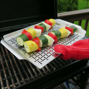 Silicone Glove Mitt for Cooking BBQ Heat Resistant Oven Grilling Kitchen