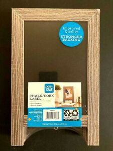 Pen+Gear    Chalk & Cork Board Easel    Free Standing & Double Sided     A-Frame