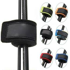 10Pcs Reusable Fishing Rod Tie Holder Strap Fastener Ties Fishing Accessories