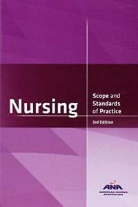 Nursing: Scope and Standards of Practice 3rd Edition Paperback VERY GOOD