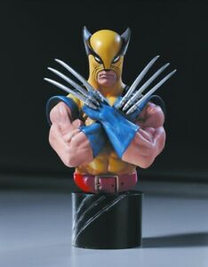 MARVEL MINI BUST WOLVERINE 25TH ANNIVERSARY EDITION 2000 RANDY BOWEN DESIGNS $49.99