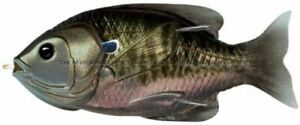 Livetarget Hollow Body Sunfish Weedless Topwater Lures 3 3.5quot;