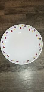 Pampered Chef Simple Additions  Polka Dot Serving Bowl Pasta Bread Salad 11'