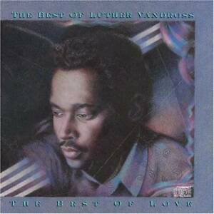 The Best of Luther Vandross: The Best of Love Audio CD VERY GOOD