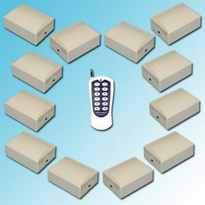 AC220V Long Distance High Current 30A Relay RF Wireless Remote Control Switch