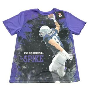 NEW NFL New England Patriots Rob Gronkowski Dry Fit Shirt Youth Size L Large Kid $12.39