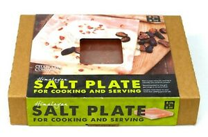 Himalayan Salt Cooking Plate Block Grilling Slab BBQ Stone Barbecue Serving Rock