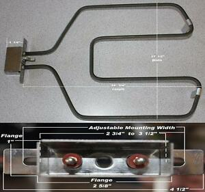 REPLACEMENT HEATING ELEMENT ONLY FOR OUTDOOR  ELECTRIC SMOKER BBQ GRILL