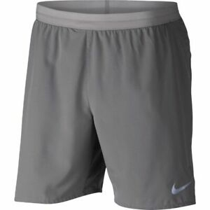 Nike Men's Flex Stride 7 Gray Lined Running Shorts Sz S L XL 2XL NWT AT4014 056 $34.99