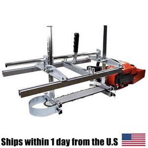 Chainsaw Mill portable 304 Steel Planking Lumber Cutting Milling 14 24