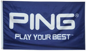 Ping Golf Flag Play Your Best 3x5 ft Banner US Shipper