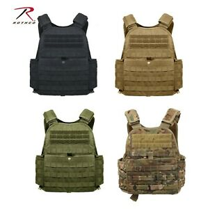 Rothco Modular Plate Carrier Regular 2XL Holds Front Back 10quot;x12quot; plates $73.99