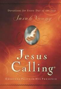 Jesus Calling: Enjoying Peace in His Presence Hardcover By Sarah Young GOOD $3.61
