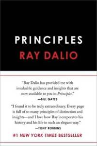Principles: Life and Work Hardcover By Dalio Ray GOOD $10.95