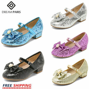 DREAM PAIRS Kids Girls Flat Shoes Toddler Shoes Wedding Princess Dress Shoes $11.99