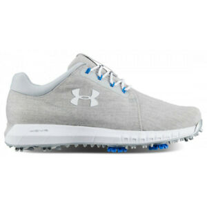 NEW Womens Under Armour HOVR Drive Sunbrella Golf Shoes Grey White Pick Size! $39.99