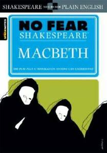 Macbeth No Fear Shakespeare Paperback By Shakespeare William GOOD